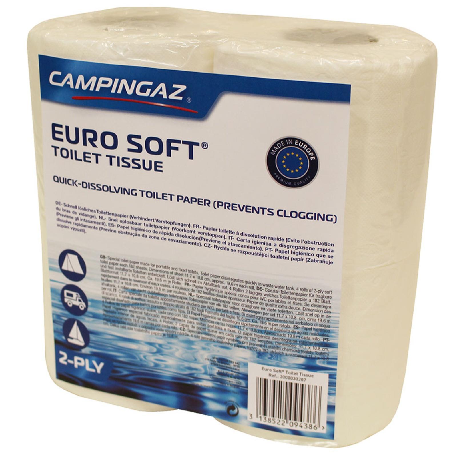 Toaletní papír pro chemické toalety Euro Soft