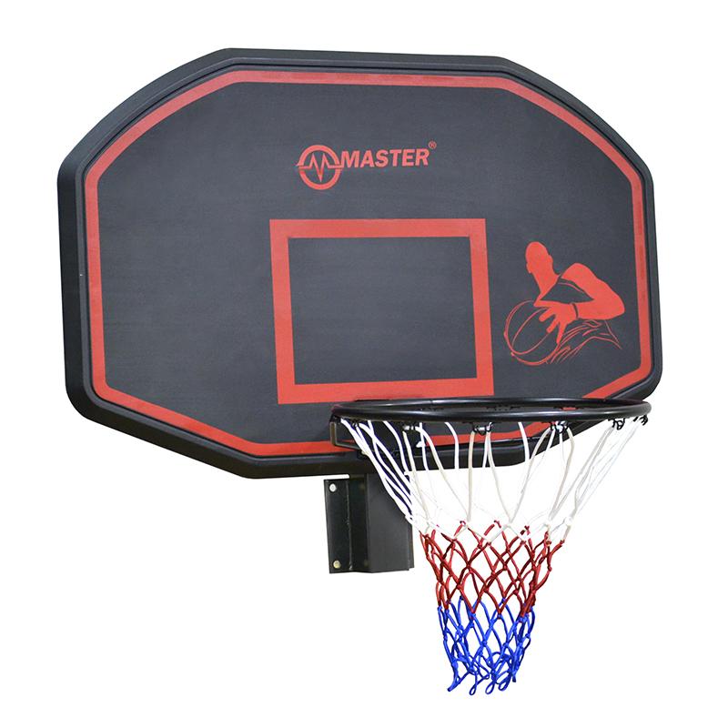 Basketbalový koš s deskou MASTER 110 x 70 cm