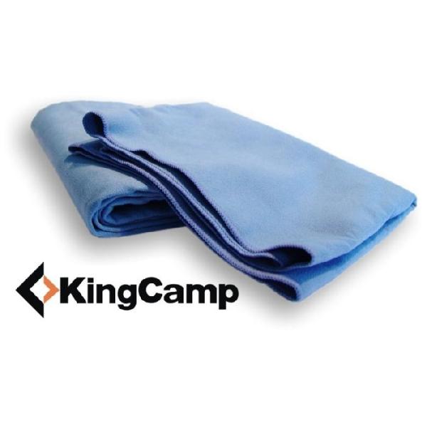 Multifunkční ručník KING CAMP 45 x 90 cm modrý