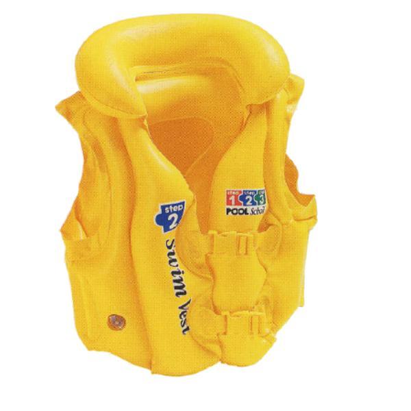 Dětská nafukovací plavecká vesta INTEX Deluxe Step