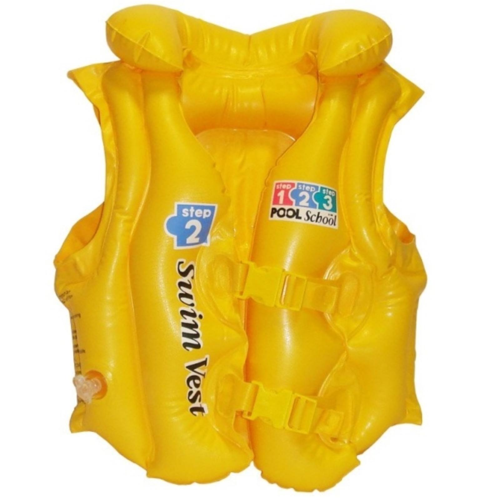 Dětská nafukovací plavecká vesta INTEX Deluxe School