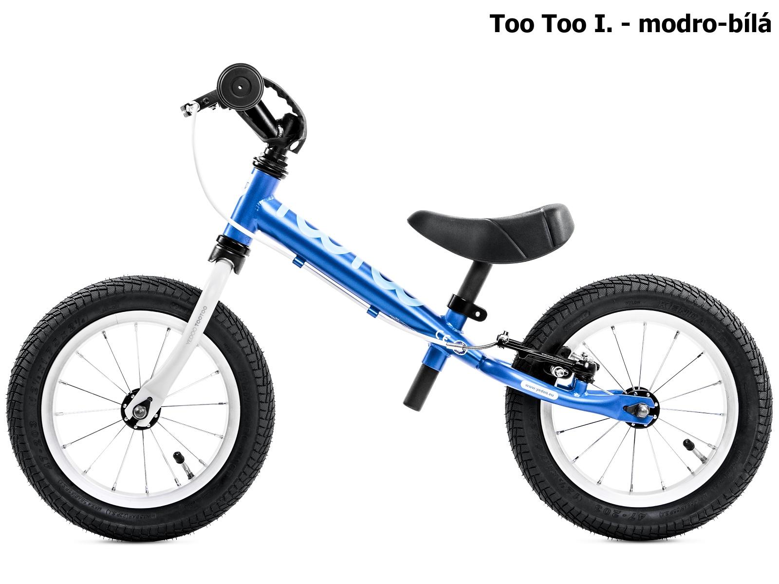 Dětské odrážedlo YEDOO Too Too I. - modro-bílé