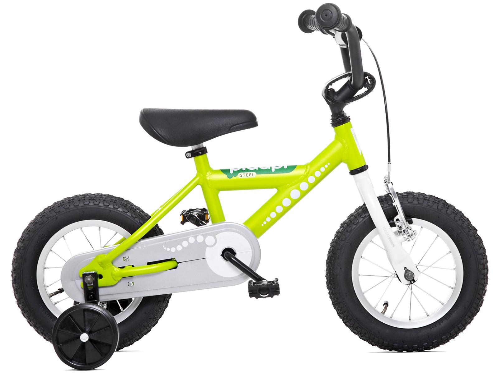 Dětské kolo YEDOO Pidapi 12 steel - zelené