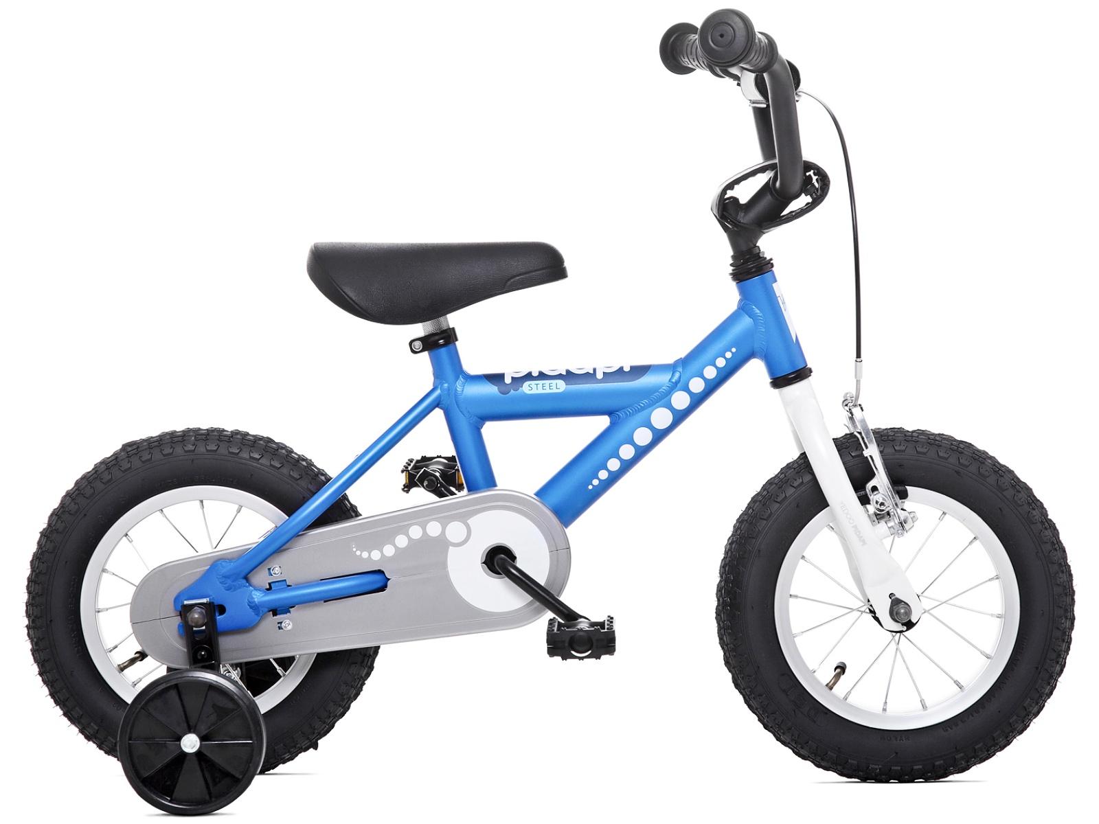 Dětské kolo YEDOO Pidapi 12 steel - modré