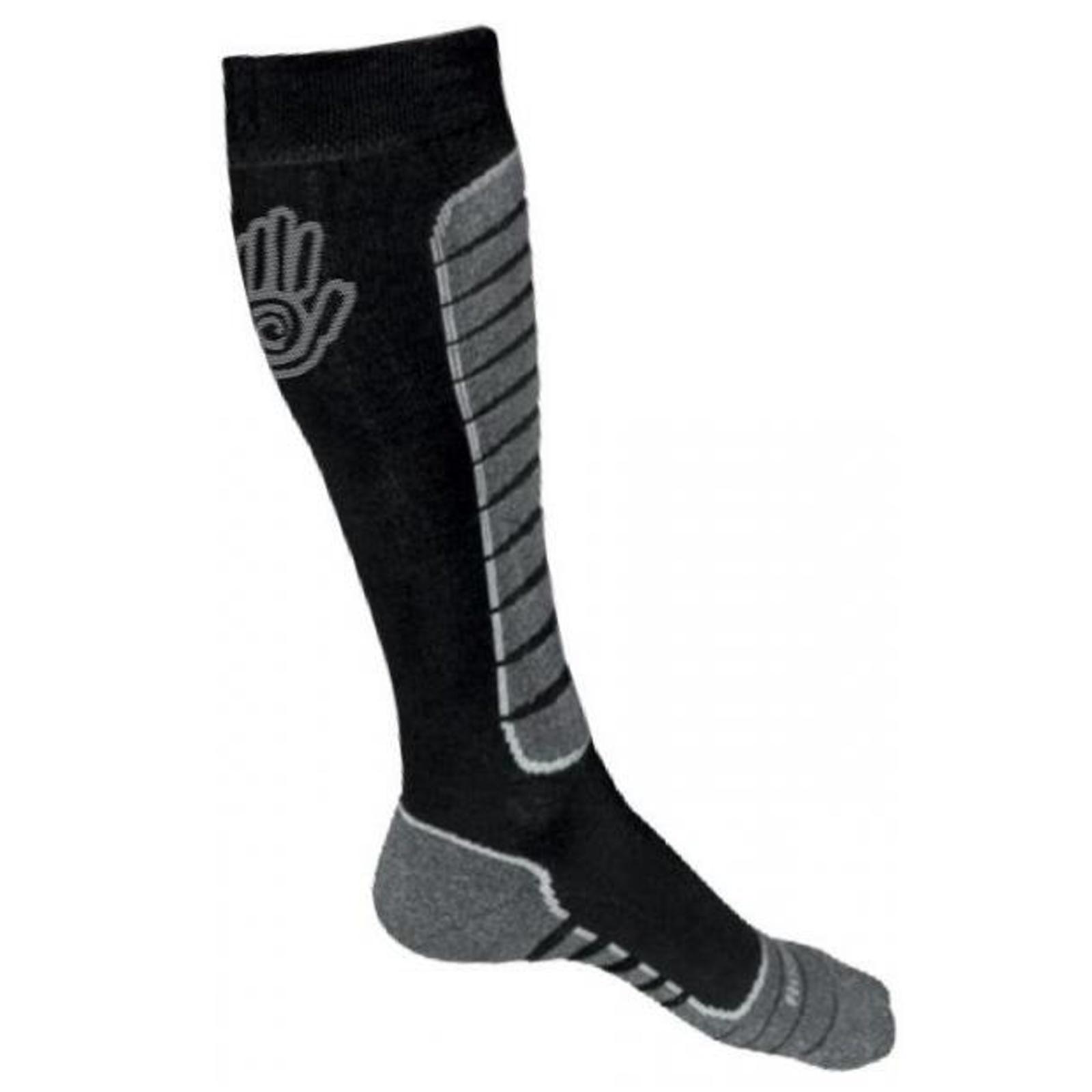 Ponožky SENSOR Snow Pro 3-5 šedo-černé