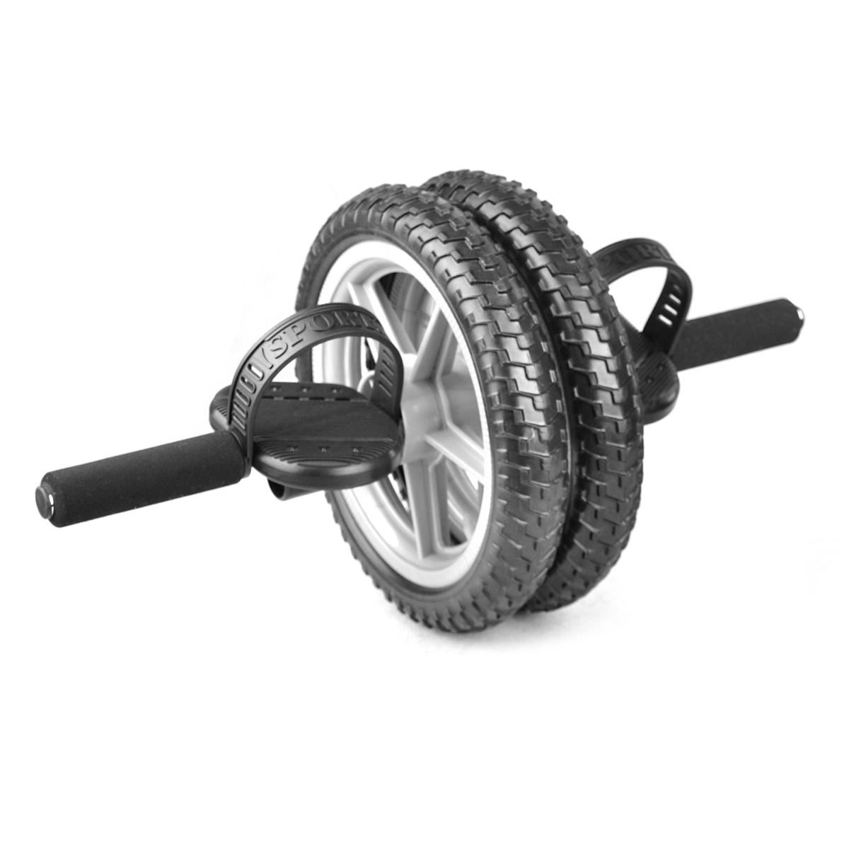 Silič - posilovací kolečko dvojité - power wheel