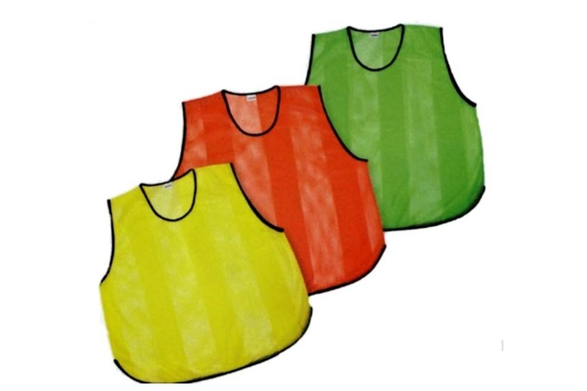 Rozlišovací dres děrovaný - L - oranžový
