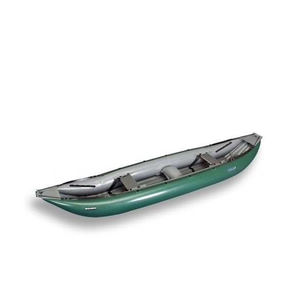 Nafukovací kanoe GUMOTEX Baraka červeno-šedá - SET