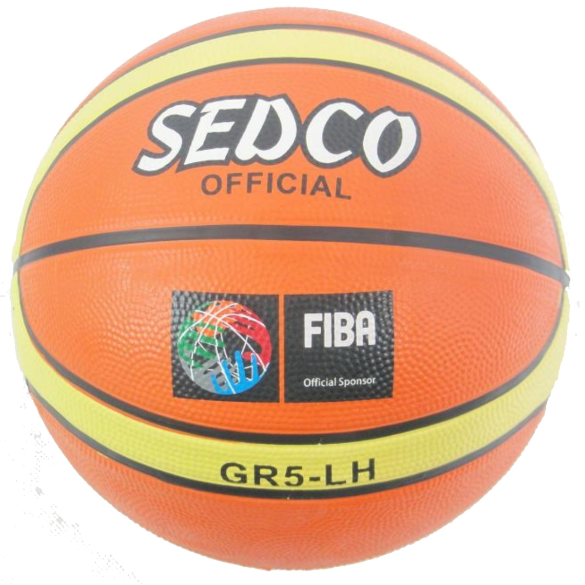 Basketbalový míč SEDCO Orange Super 5