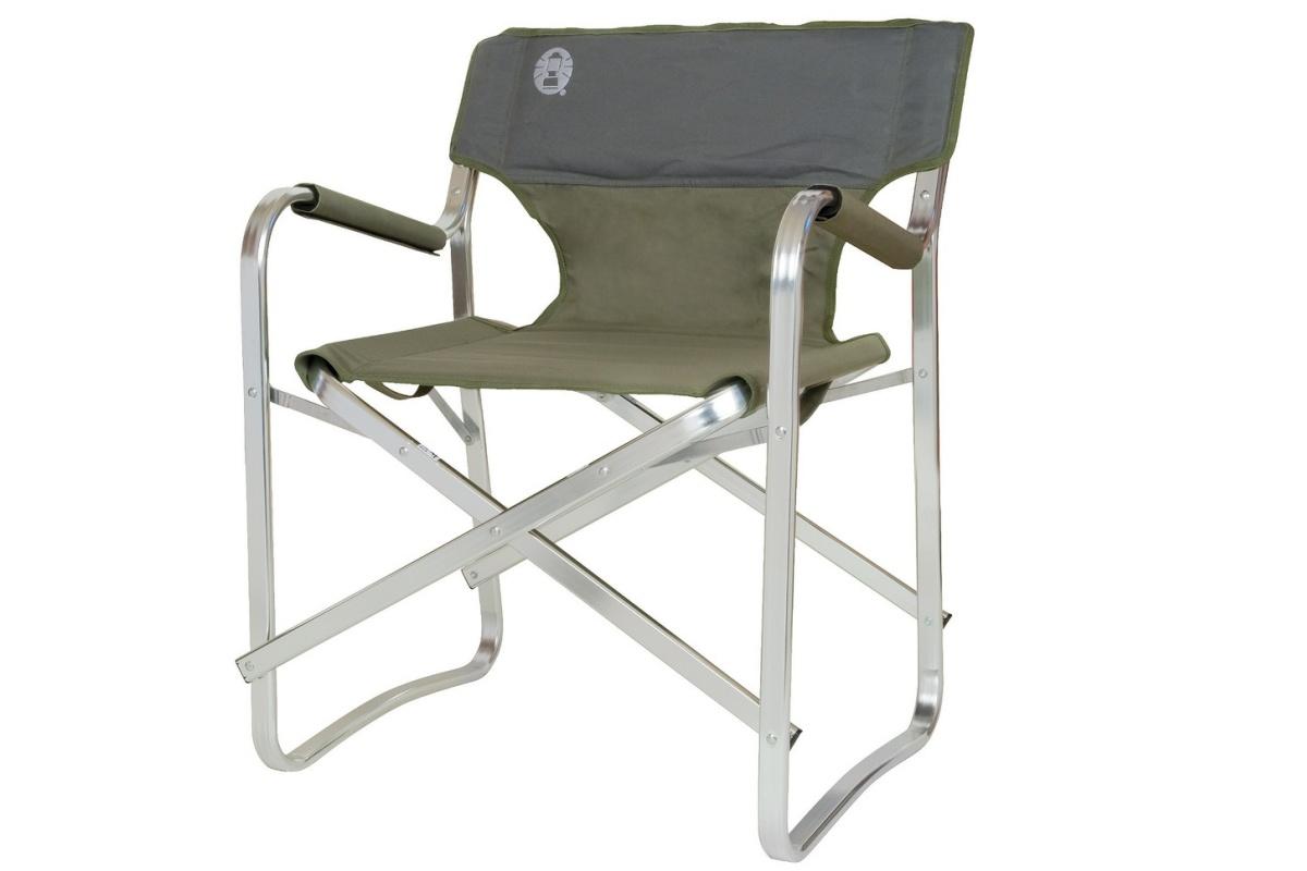 Kempingová židle COLEMAN Deck Chair zelená