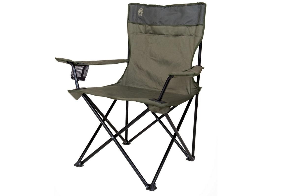 Kempingová židle COLEMAN Standard Quad Chair zelená