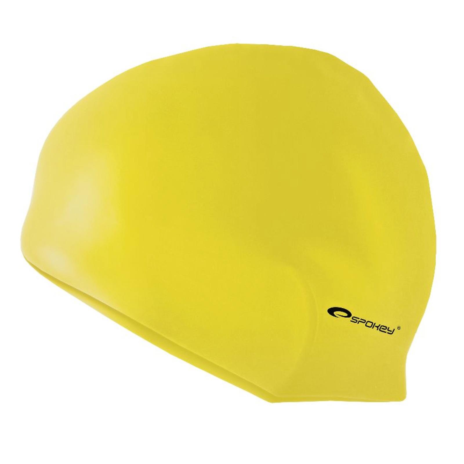 Plavecká čepice SPOKEY Summer - žlutá
