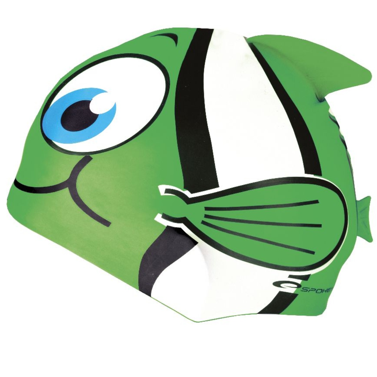 Plavecká čepice SPOKEY Rybka - zelená