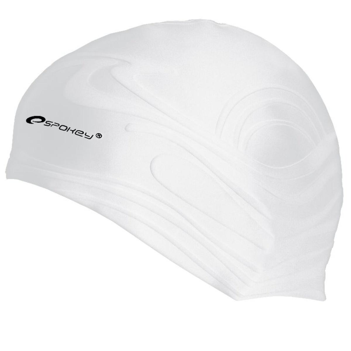 Plavecká čepice SPOKEY Shoal - bílá