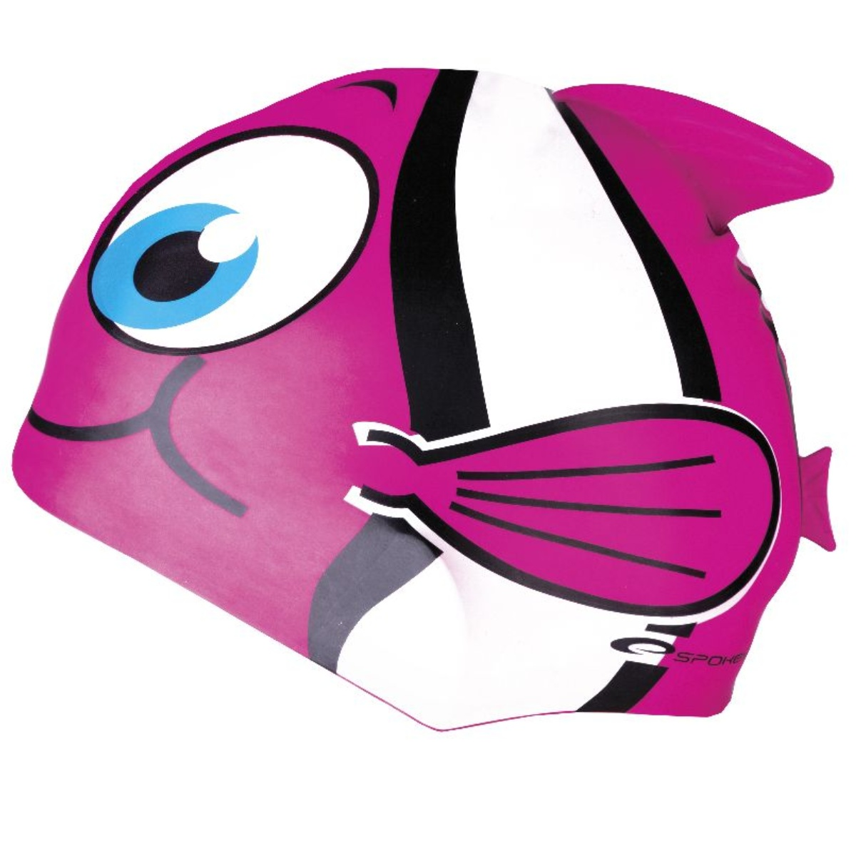 Plavecká čepice SPOKEY Rybka - růžová