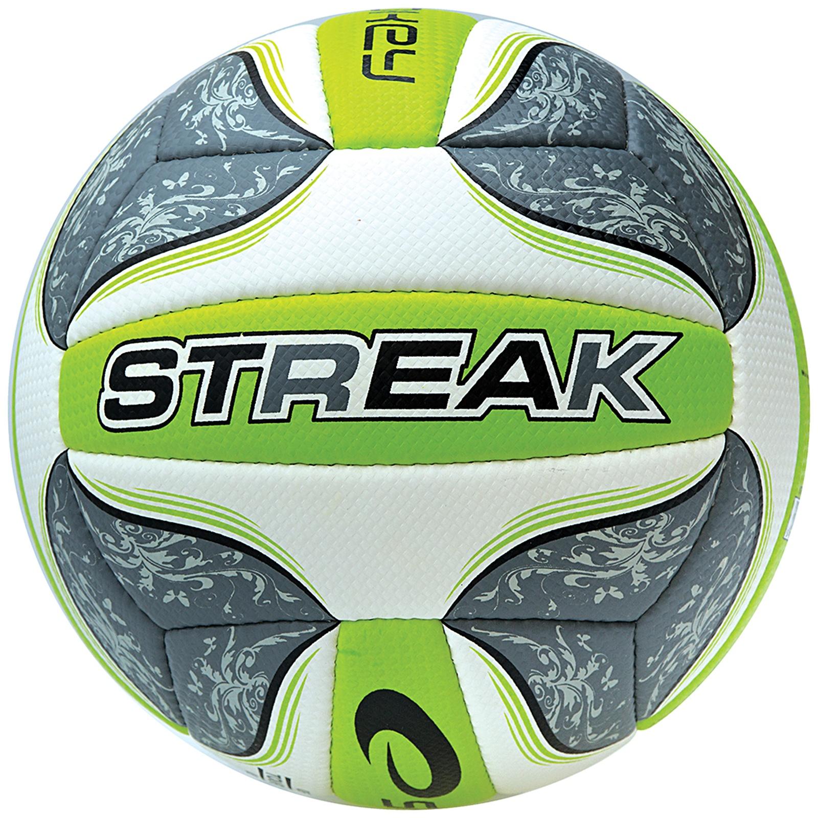 Volejbalový míč SPOKEY Streak II šedý