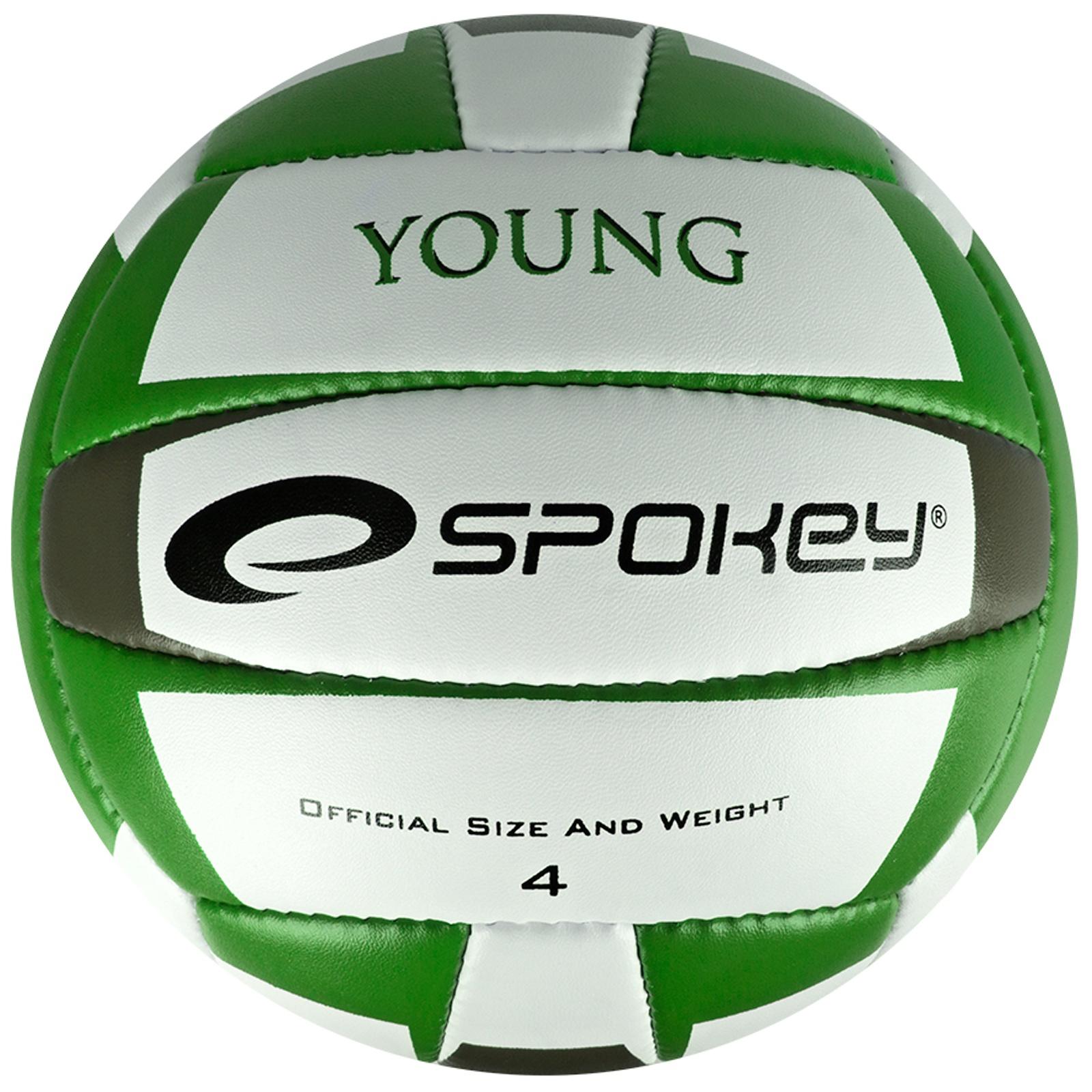 Volejbalový míč SPOKEY Young II zelený