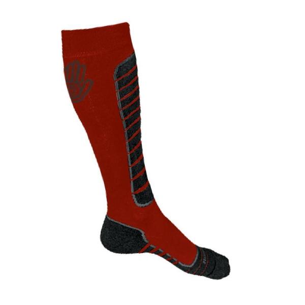 Ponožky SENSOR Snow Pro 9-11 červeno-černé