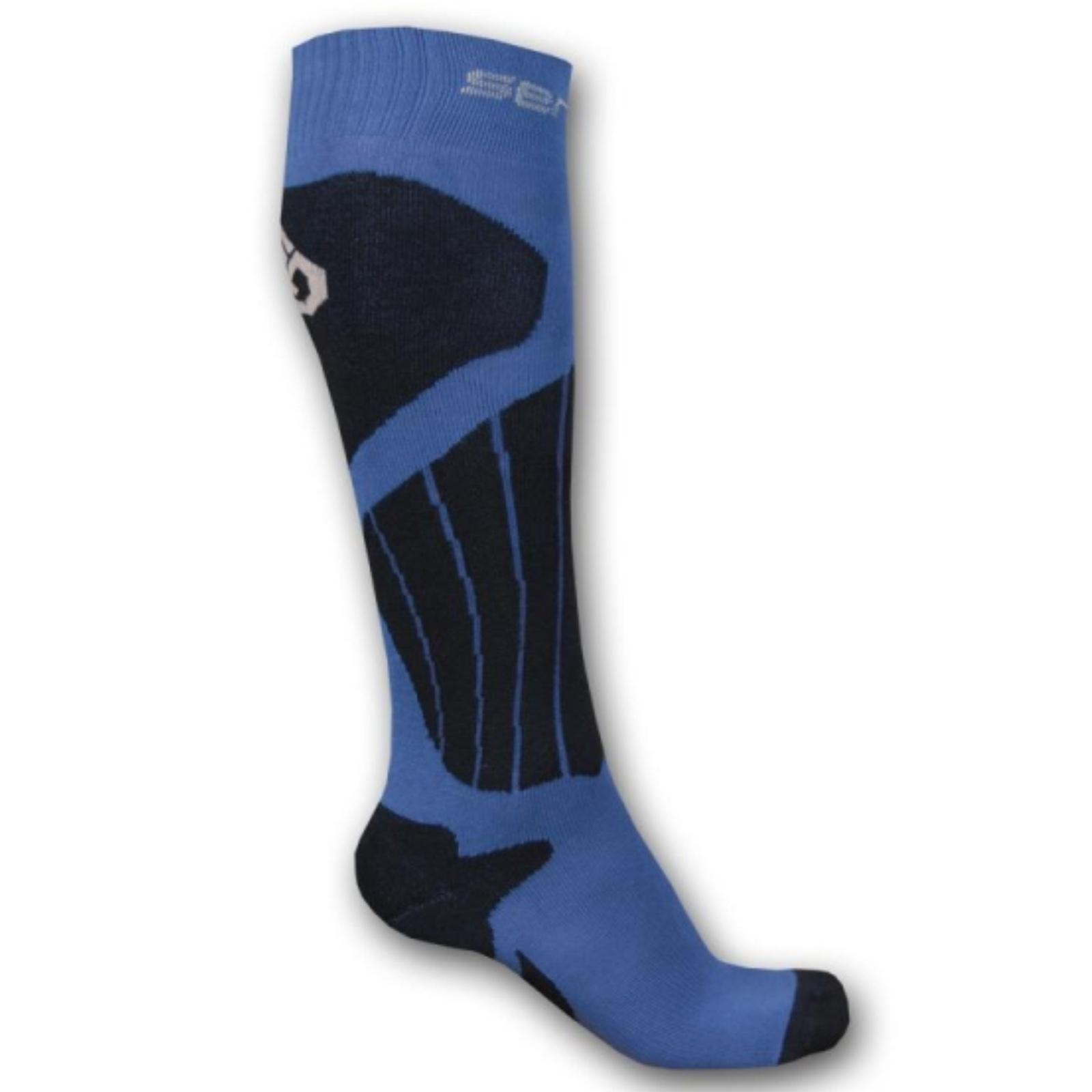 Ponožky SENSOR ThermoSnow šedo-modré vel. 6-8
