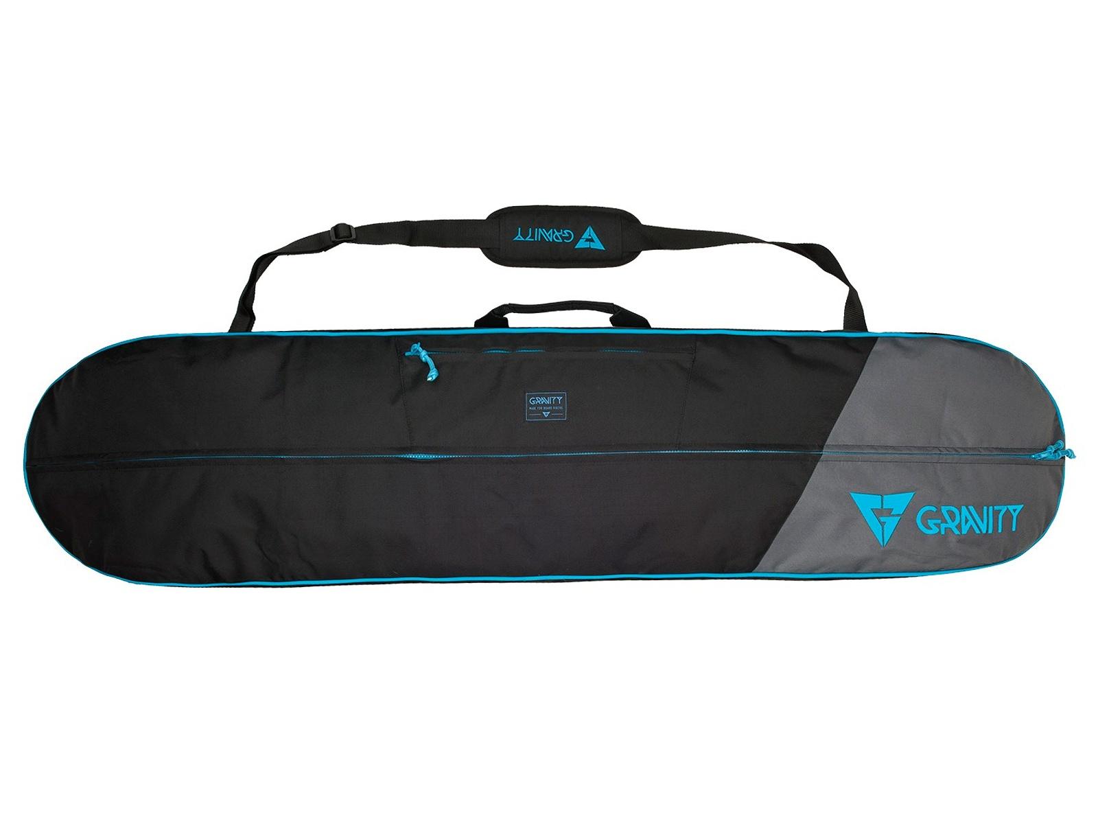 Obal na snowboard GRAVITY Icon černo-modrý - vel. 160 cm