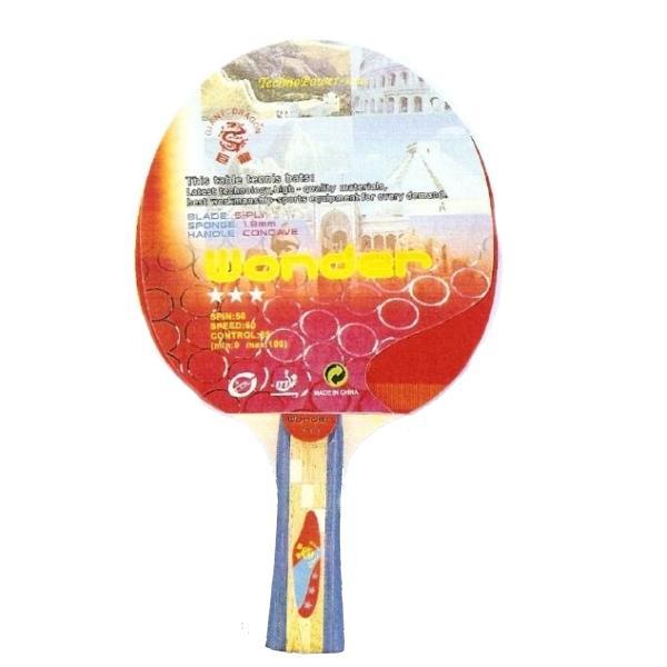 Pálka na stolní tenis TECHNO Wonder 3*