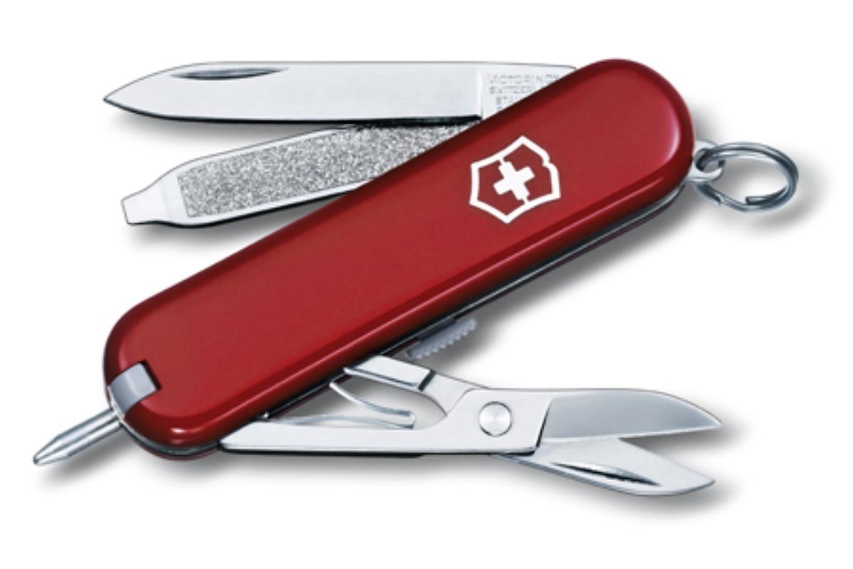 Kapesní nůž VICTORINOX Signature - červený