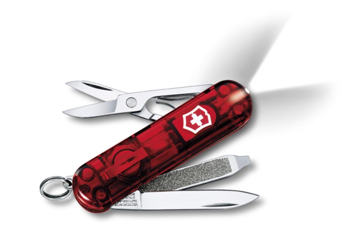 Kapesní nůž VICTORINOX Swisslite - červený
