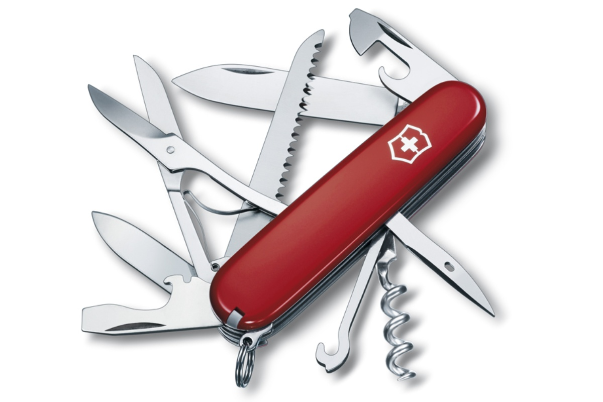 Kapesní nůž VICTORINOX Huntsman - červený