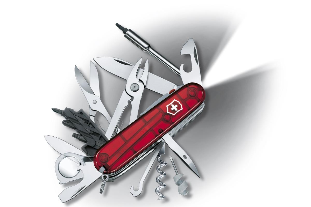 Kapesní nůž VICTORINOX Cyber Tool Lite