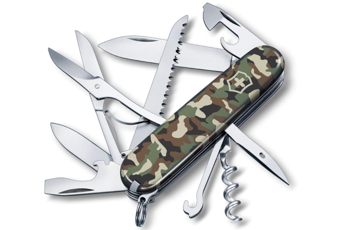 Kapesní nůž VICTORINOX Huntsman - maskáčový