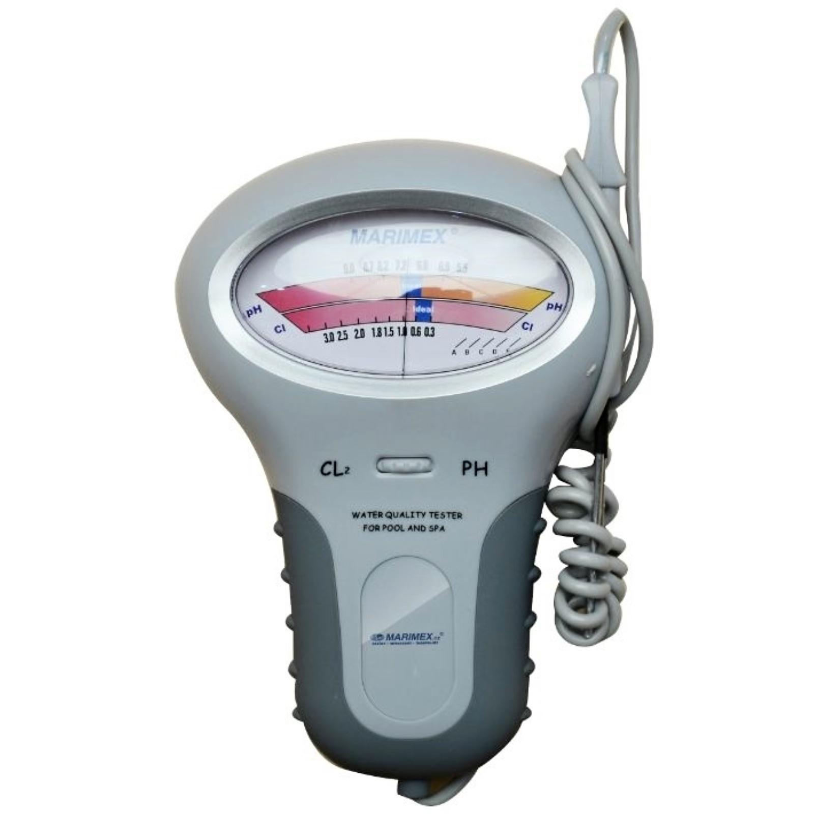 Elektronický tester na pH a chlórovou koncentraci