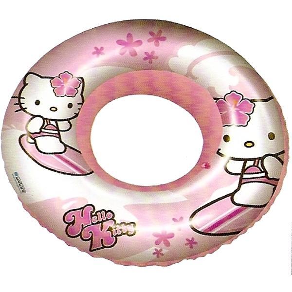 Nafukovací kruh s potiskem HELLO KITTY 50 cm