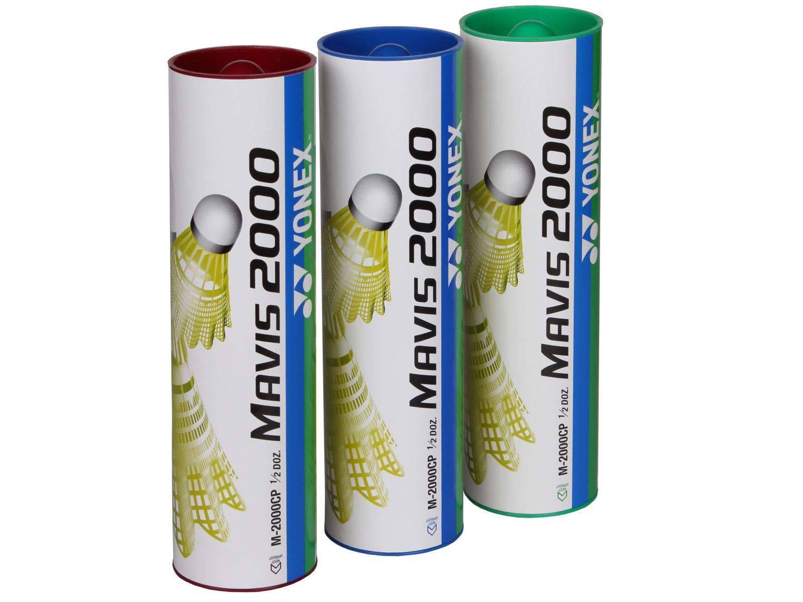 Badmintonové míčky YONEX Mavis 2000 - zelené