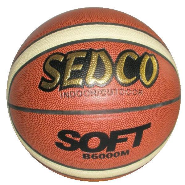 Basketbalový míč SEDCO kůže Double 241