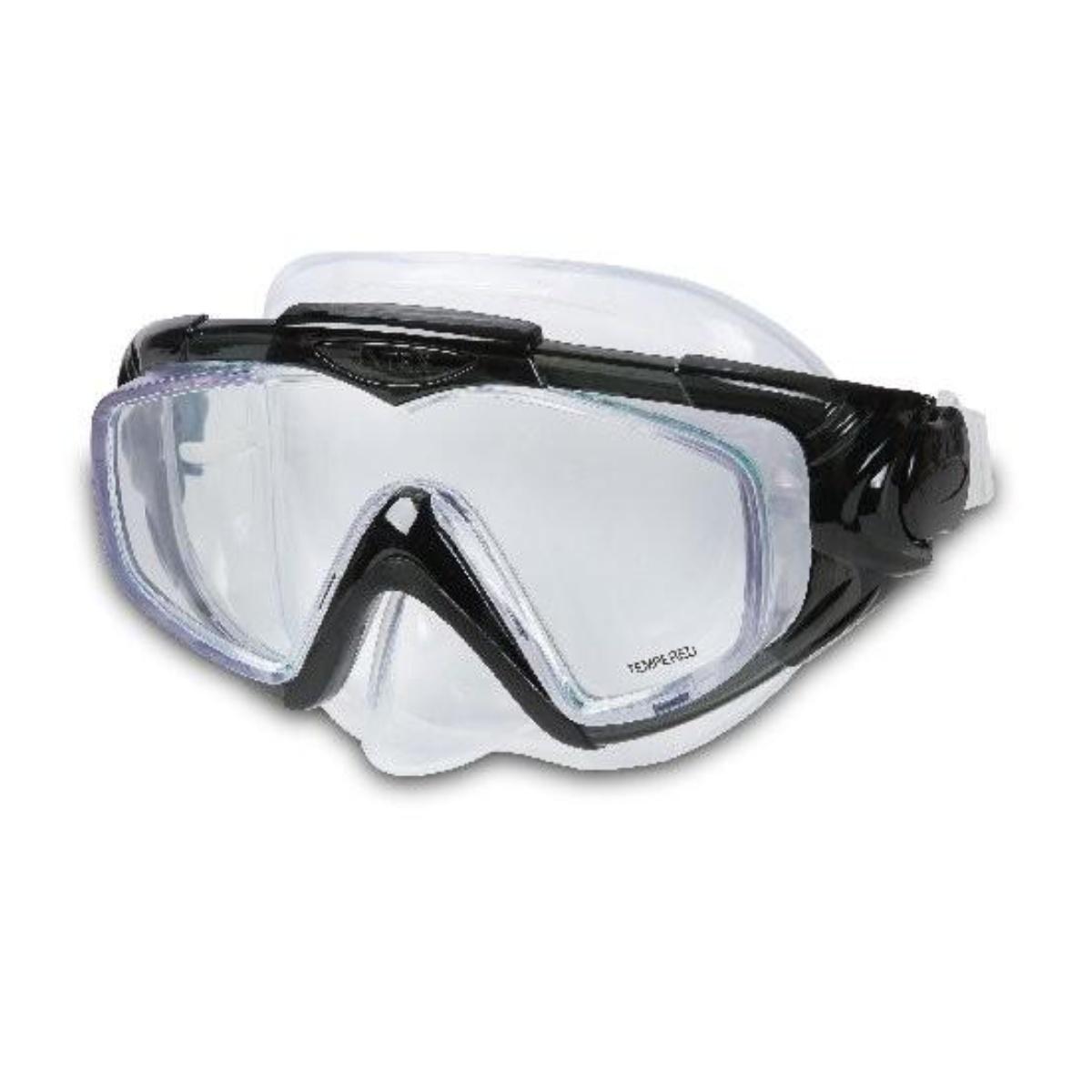 Potápěčské brýle INTEX Aqua Pro Silicon - černé