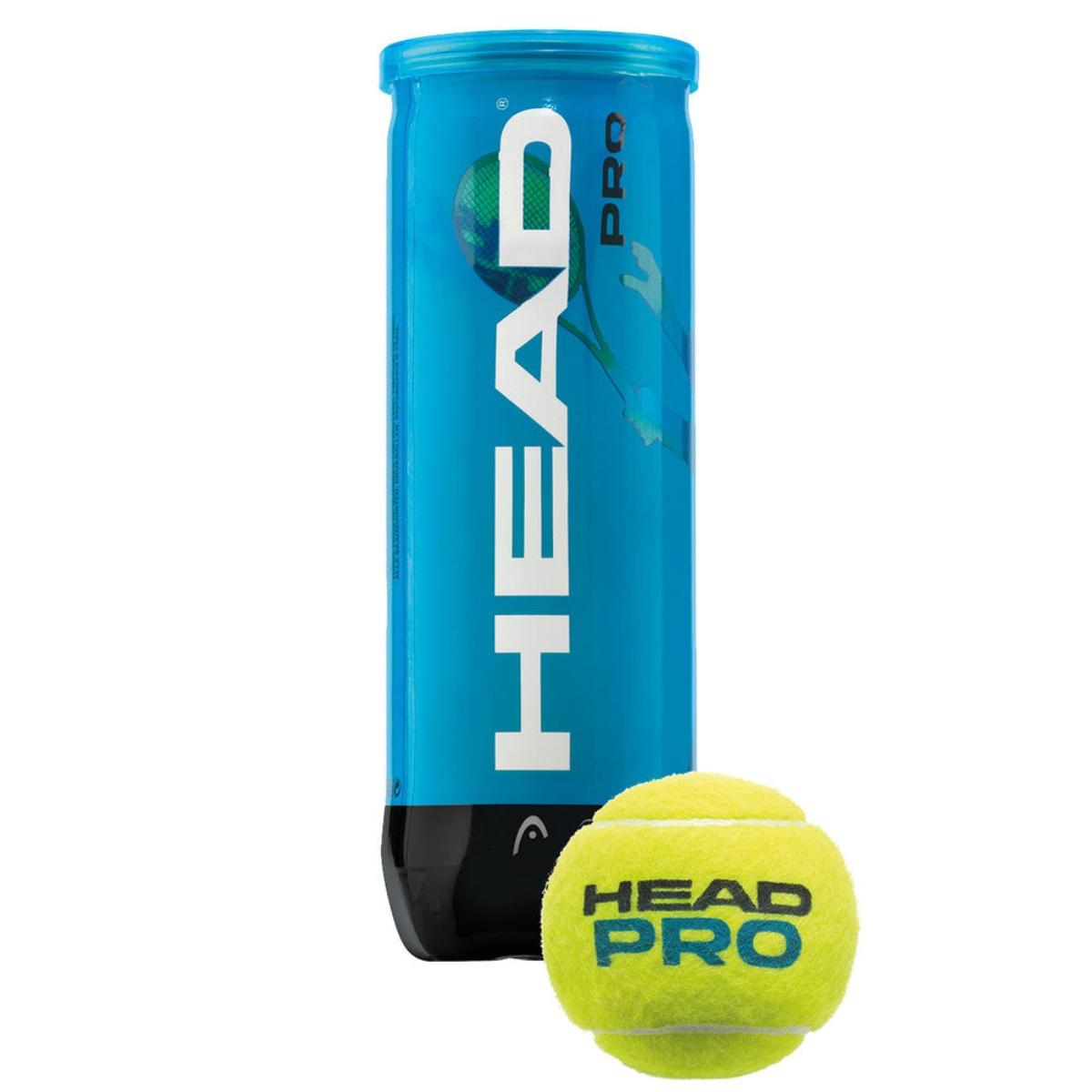 Tenisové míčky HEAD Pro 3 ks