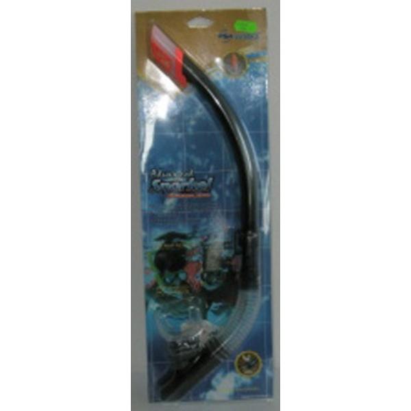Šnorchl WAVE silicon - černý