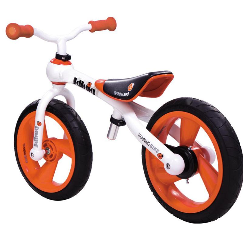 Odrážedlo JD BUG Training Bike loukoťová kola oranžové