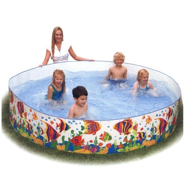 Bazén s pevnou stěnou INTEX 244 x 46 cm