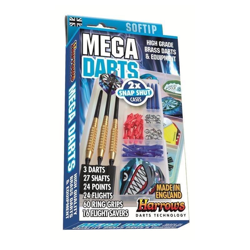 Šipky HARROWS Mega Darts dárkový set