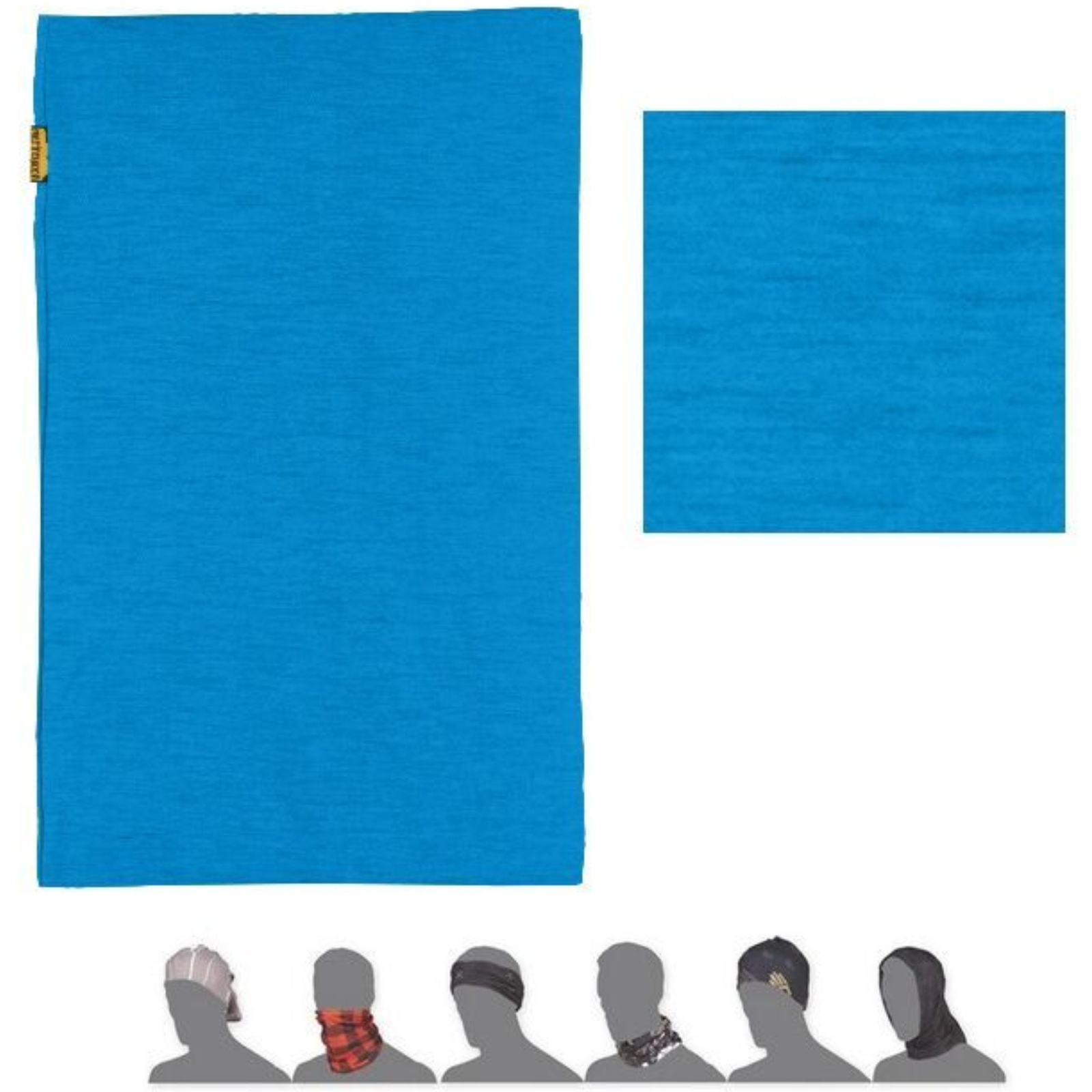 Šátek SENSOR Tube Merino wool modrý