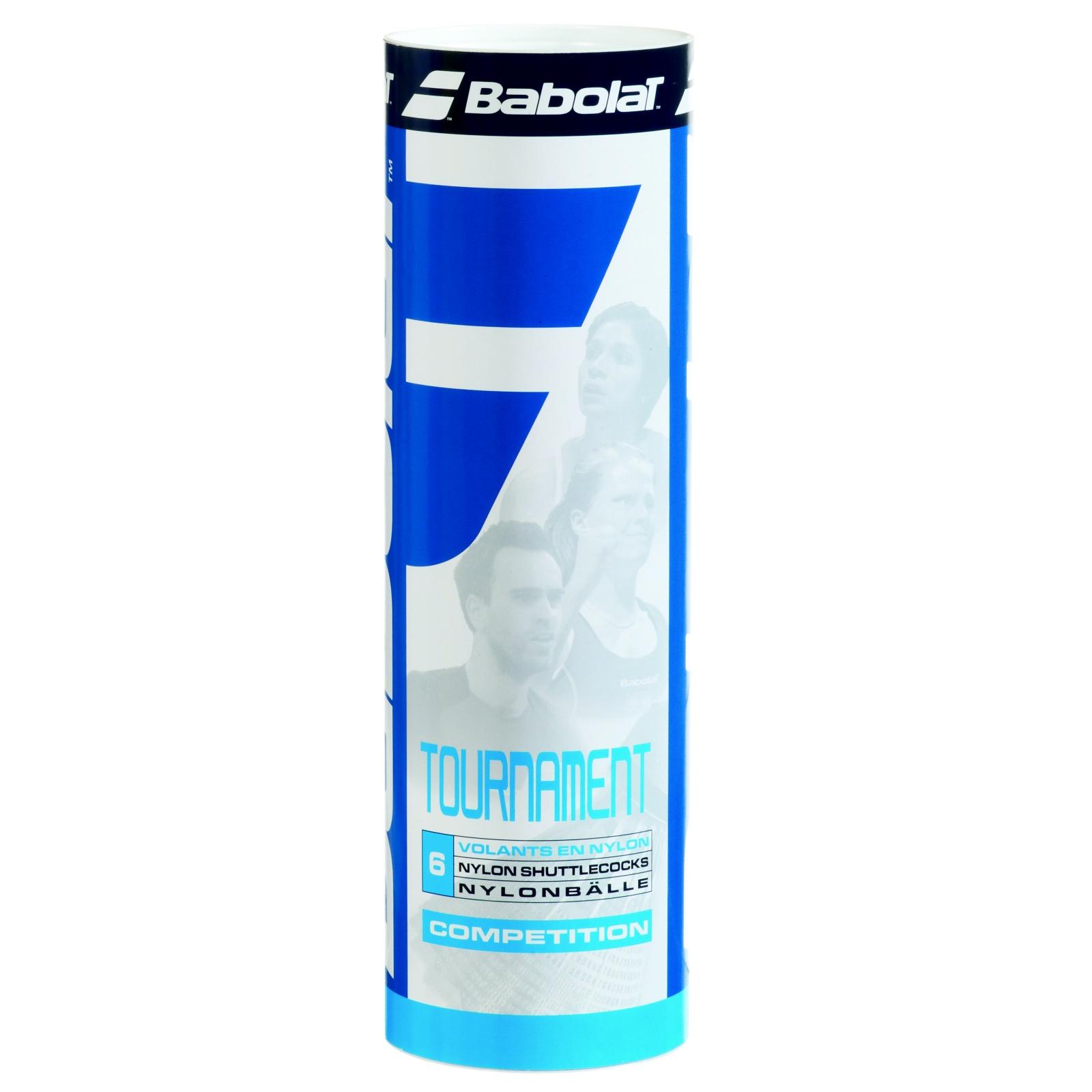 Badmintonové míčky BABOLAT Tournament Medium bílé