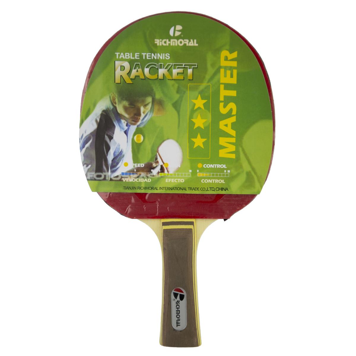 Pálka na stolní tenis RICHMORAL Master 3* CP 102
