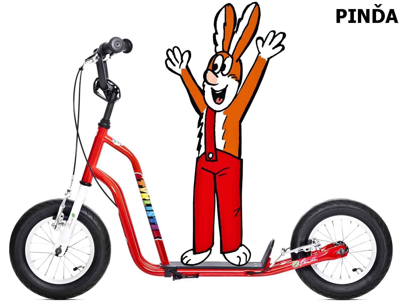 Koloběžka YEDOO Čtyřlístek Maxi Pinďa