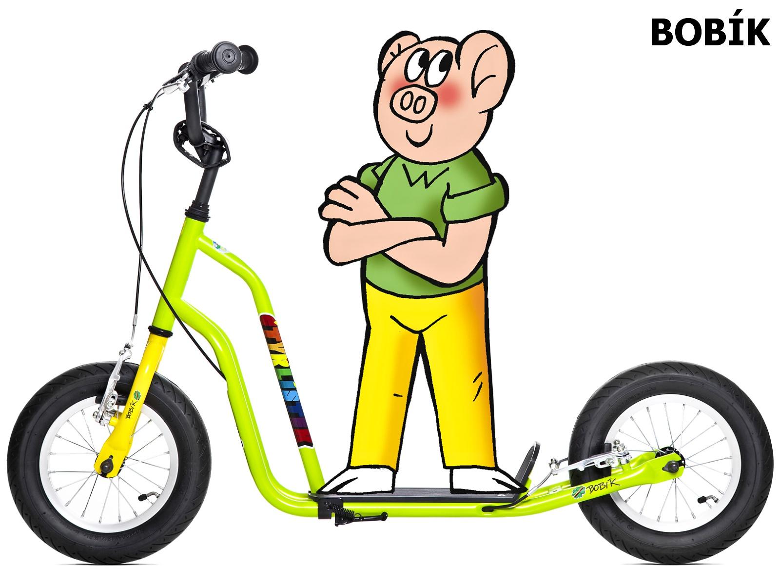 Koloběžka YEDOO Čtyřlístek Maxi Bobík