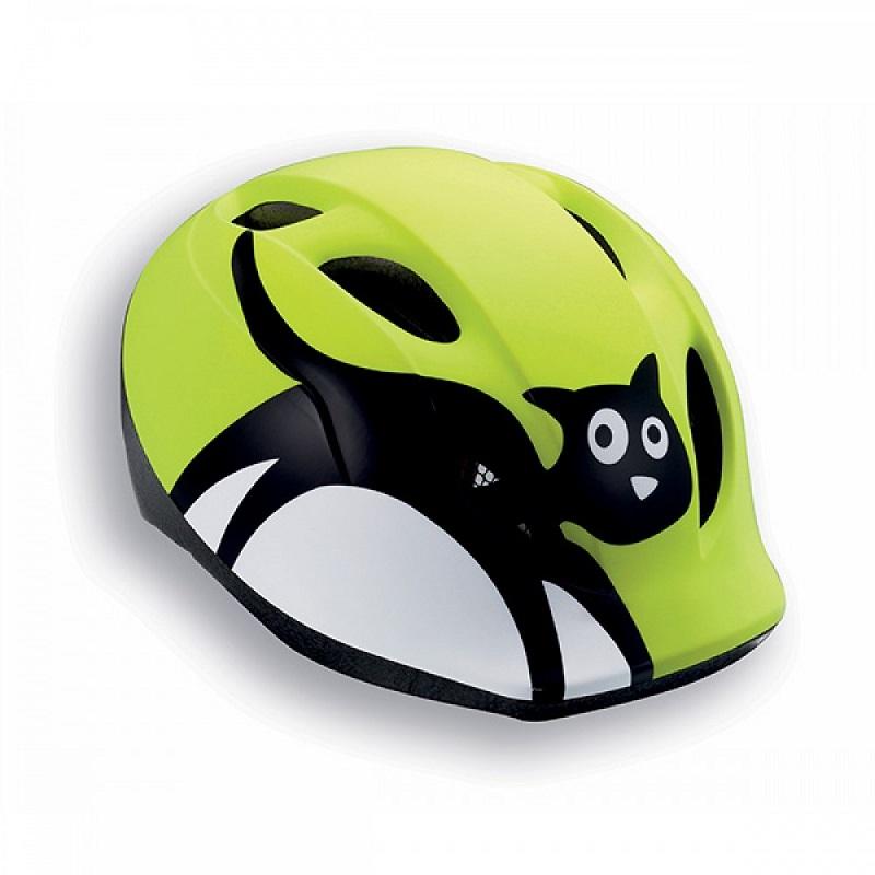 Cyklo přilba MET Buddy 46-53 zelená-kočka