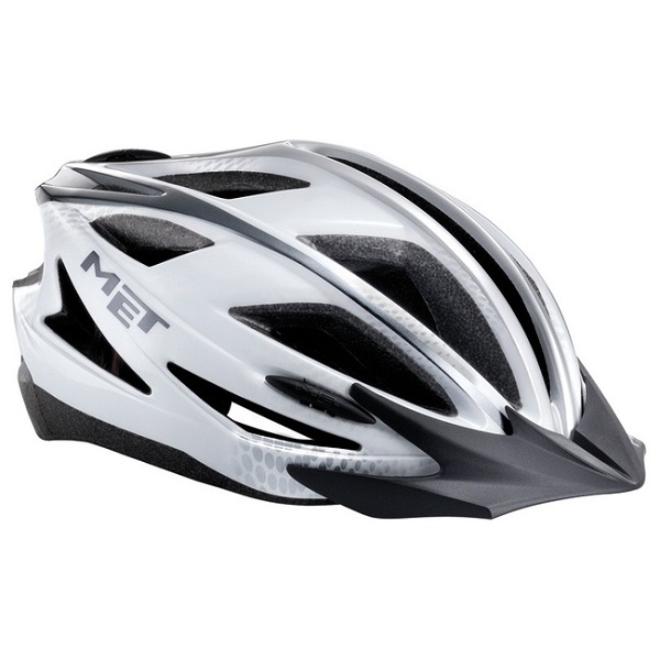 Cyklo přilba MET Pilgrim 54-61 černá/bílá