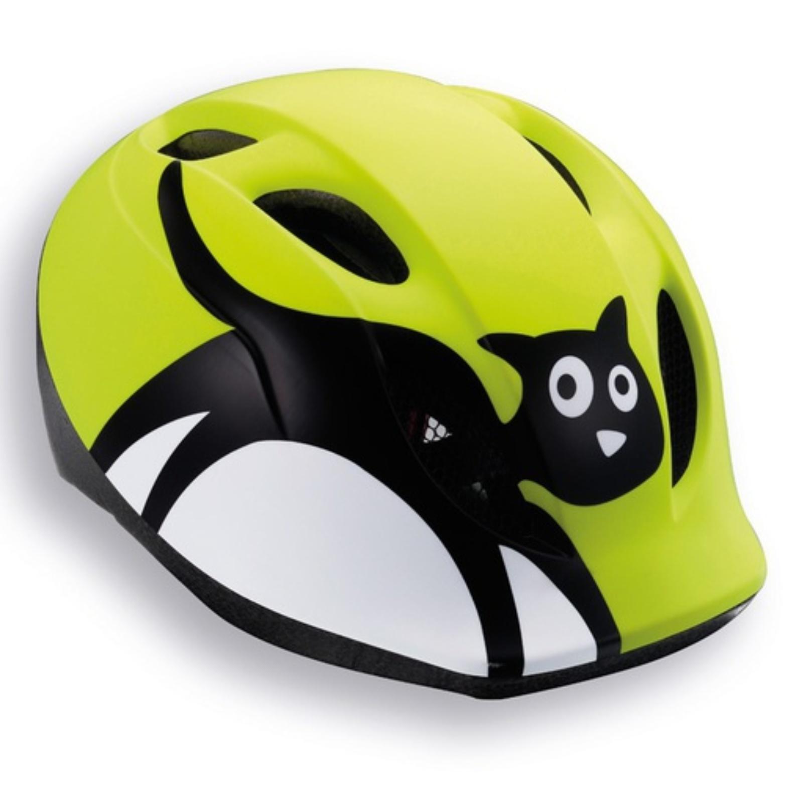 Cyklo přilba MET Super Buddy 52-57 zelená-kočka