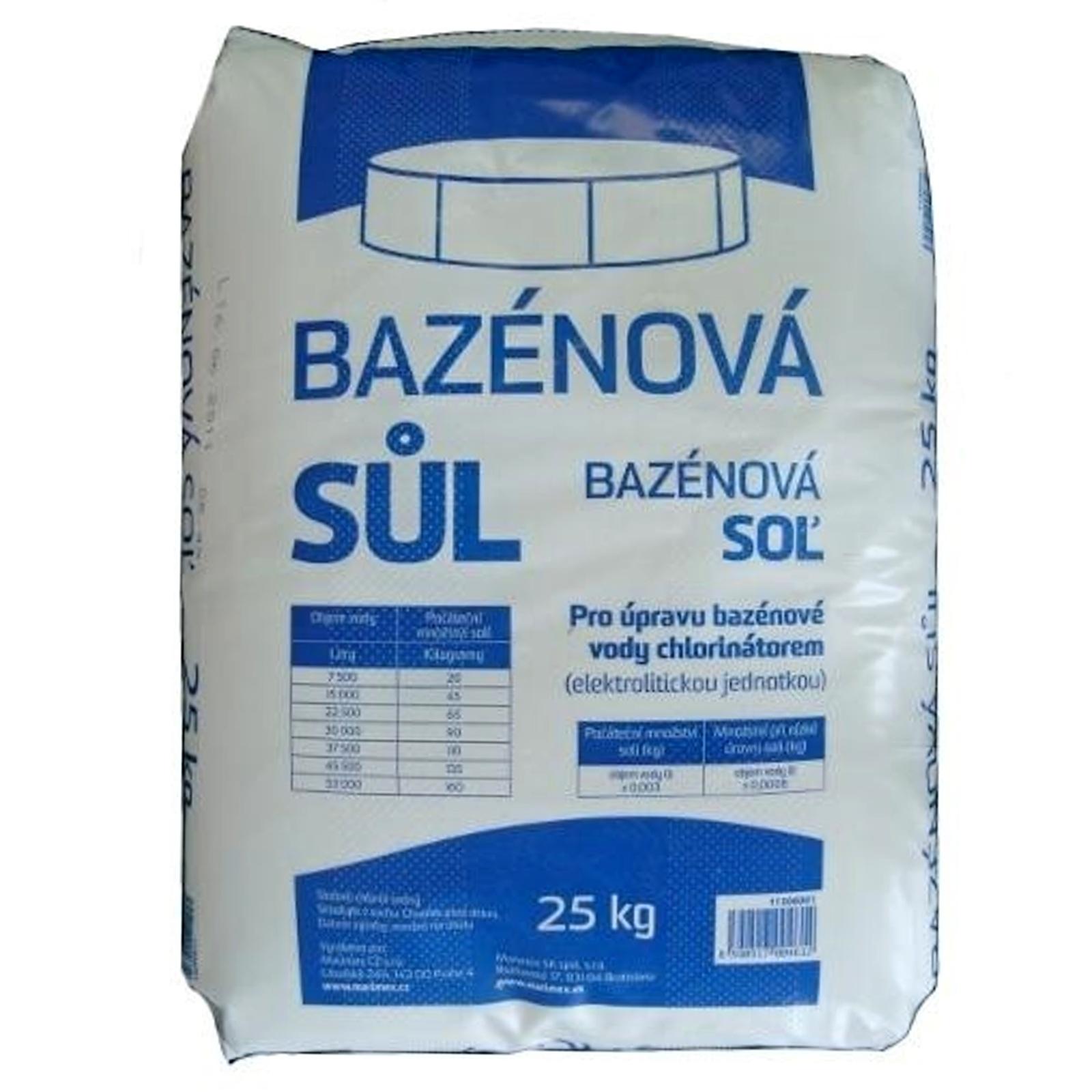 Bazénová sůl MARIMEX - 25 kg