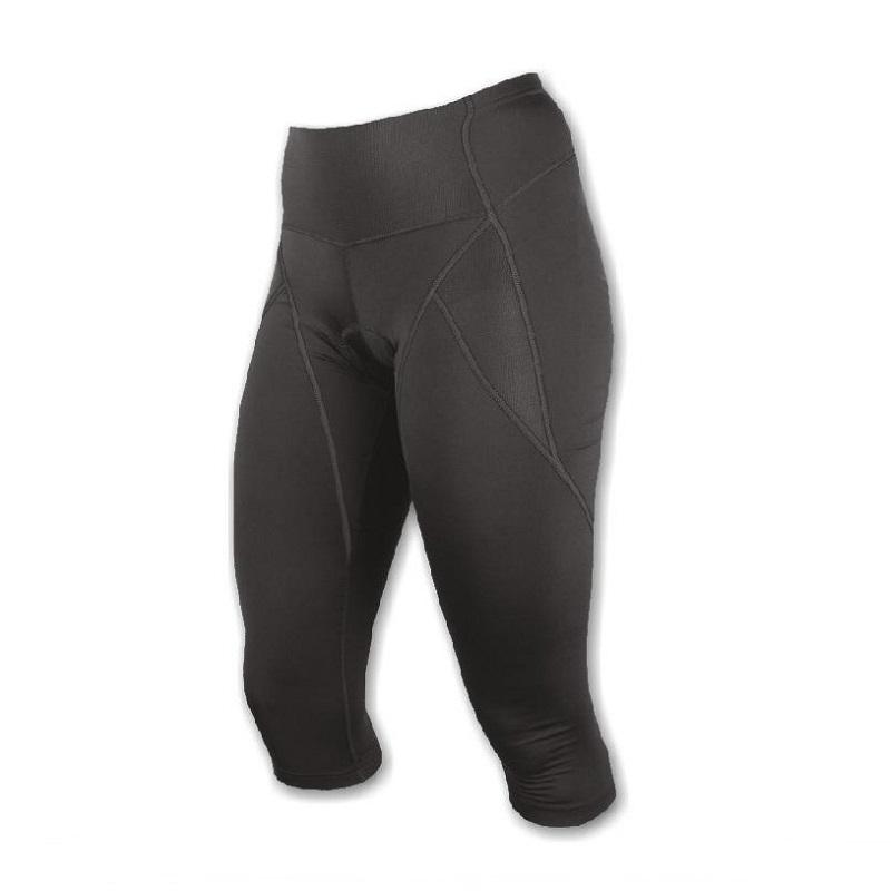 Kalhoty cyklo SENSOR Race 3/4 dámské černé - vel. M